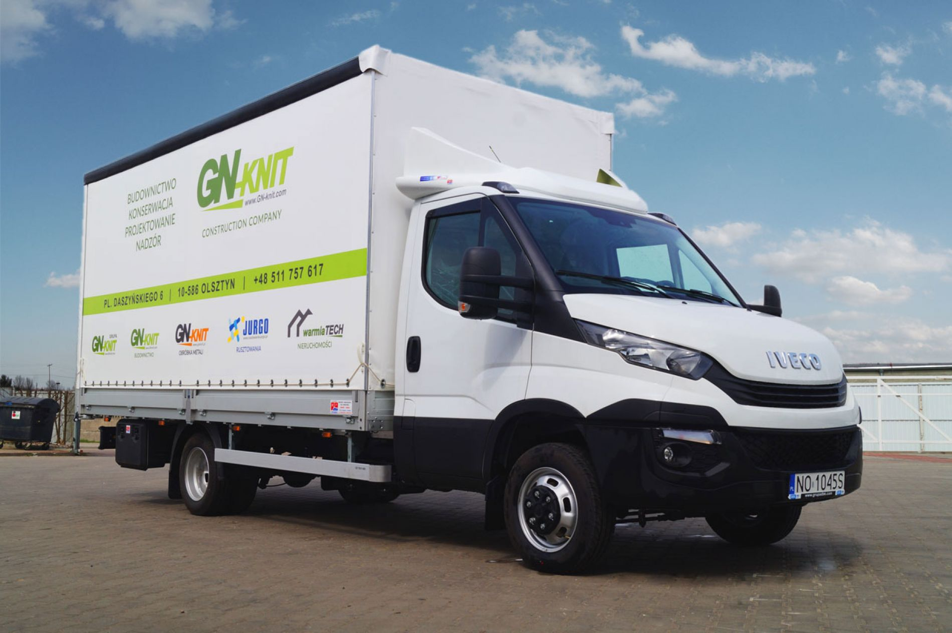 Nowe Iveco Daily dla Gn-Knit